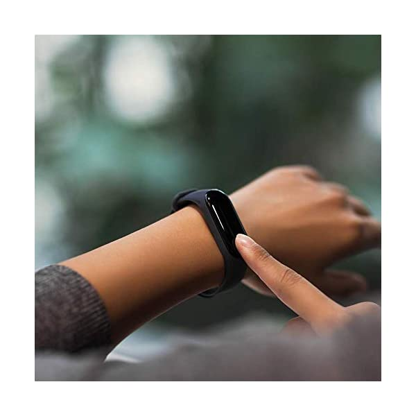 Xiaomi Mi Band 3 - Pulsera de actividad, Pantalla 0.78'' full OLED táctil, Notificaciones, Sumergible 50m, Mide calorías, pasos y sueño, Negro 3