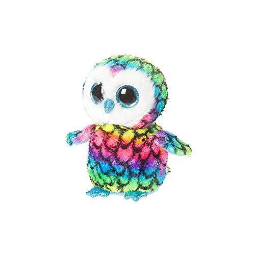 Beanie Boo Owl - Aria - Multicoloured - 15cm 6""