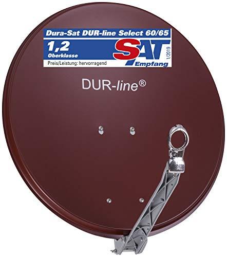 DUR-line Select 60/65cm Rot Satelliten-Schüssel - Test + Sehr gut + Aluminium Sat-Spiegel