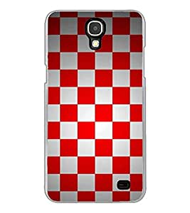 Fiobs Designer Back Case Cover for Samsung Galaxy Mega 2 SM-G750H (Patterns Design Cool Chess Board Red )