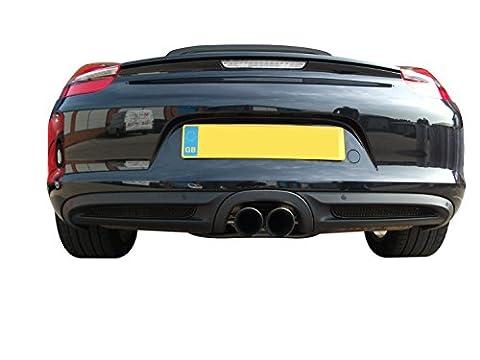 Porsche Boxster 981 - Ensemble calandre arrière - Finition noir (2012 to 2014)