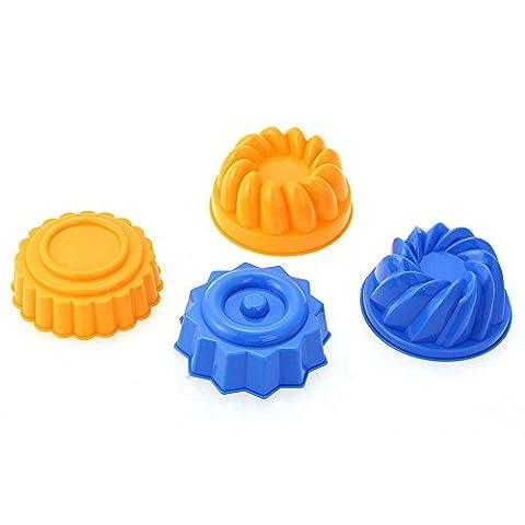 MagiDeal Satz Von Form Am Meer Kind Eimer Spaten Rechen-Kit Sand Küche Strand Spaß Spielzeug