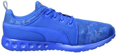 Puma Carson Cam, Chaussures de Running Compétition Homme Bleu - Blau (Electric Blue lemonade-puma Silver 02)