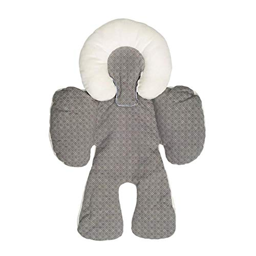 Stroller protection pad/car seat cushion Medizinfell Kinderwagen Unterlage/head body protection pad double-sided