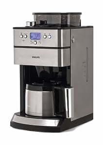 Phillips - HD7753/00 - Cafetière Avec verseuse et moulin Minuterie