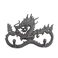 Fu jiang Key hook Antique wall hanging hook Dragon Multipurpose Coat hook -19×13 cm