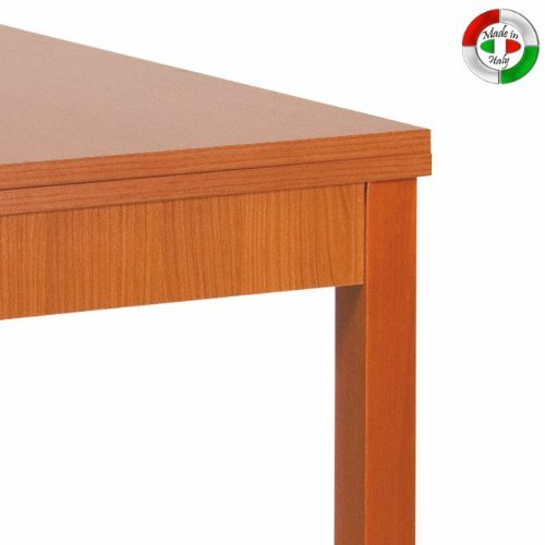 Tavolo Color Ciliegio Allungabile.Tavolo Da Pranzo Allungabile Ciliegio In Legno Nobilitato Cm