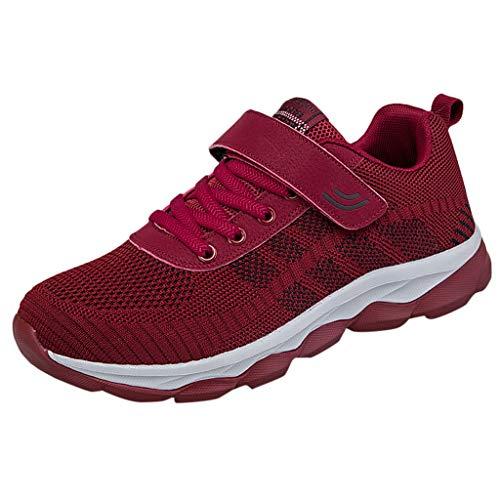 URIBAKY Unisex Paar Frühling Sommer Übergröße Schnürer Damen Herren Sneakers,Sportschuhe Mesh Walking Jogging Laufschuhe,Turnschuhe Arbeitsschuhe