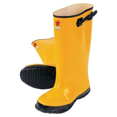 Slush-boot (Rubber Slush Boots, 17, Yellow, Size 13 by Logistics)