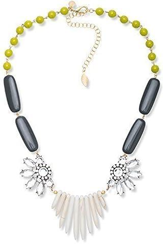 David aubrey collier-blanc/violet/vert