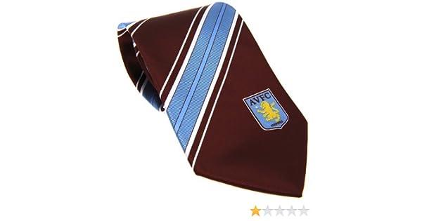 Aston Villa FC Official Product Men's Polyester Tie Woven