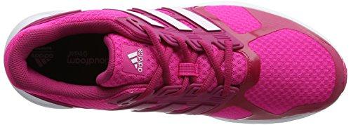 adidas Duramo 8, Running Mixte Adulte Rose (Shock Pink/ftwr White/bold Pink)