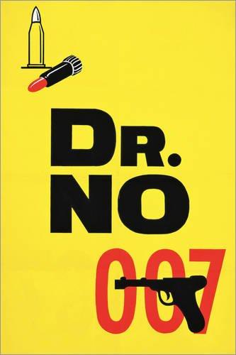 Posterlounge Leinwandbild 120 x 180 cm: Dr. No von English School/Bridgeman Images - fertiges Wandbild, Bild auf Keilrahmen, Fertigbild auf echter Leinwand, Leinwanddruck