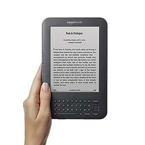 Amazon Kindle Keyboard 4GB, Wi-Fi + 3G , 6in White