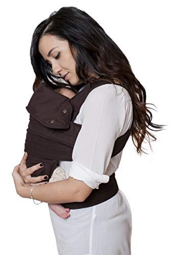 marsupi Baby- und Kindertrage, Version 2.0 (chocolate/brown, S/M)