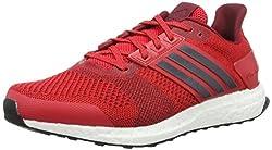 adidas Herren Ultra Boost ST M Laufschuhe, Rojo (Rojray/Maruni / Buruni), 45 1/3 EU
