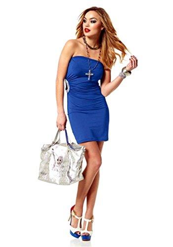 Melrose -  Vestito  - Opaco - Donna Blu Royal