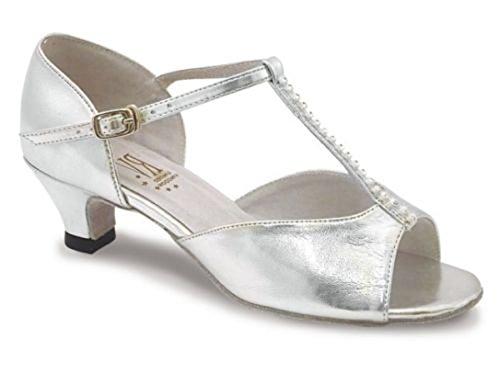Lara-chaussures de bal argenté Argent