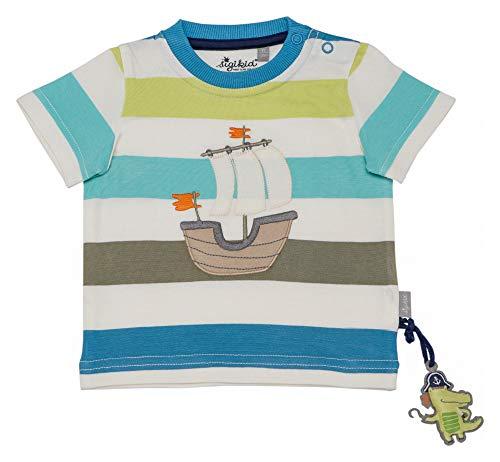 Sigikid Jungen, Baby T-Shirt, Mehrfarbig (Snow White 37), Herstellergröße: 86