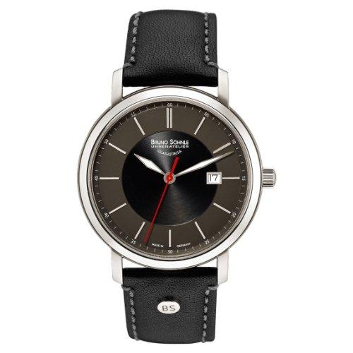 Bruno Söhnle Reloj de pulsera hombre Legato analógico de cuarzo piel 17–13138–741