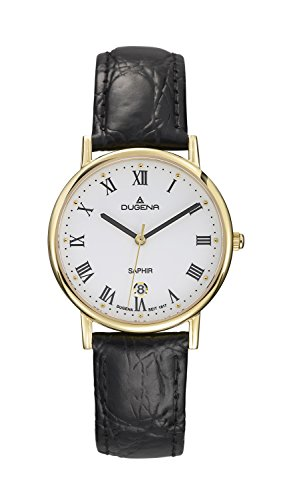 Dugena Classic Gents Watch Quartz Watch With Leather Strap  4460365