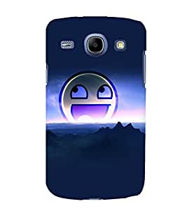 printtech Smiley Meme Back Case Cover for Samsung Galaxy J1 / Samsung Galaxy J1 J100F
