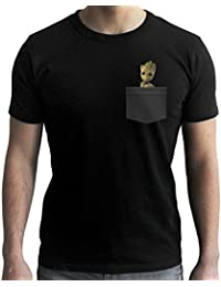 MARVEL - Tshirt Pocket Groot - Les Gardiens de la galaxie 2