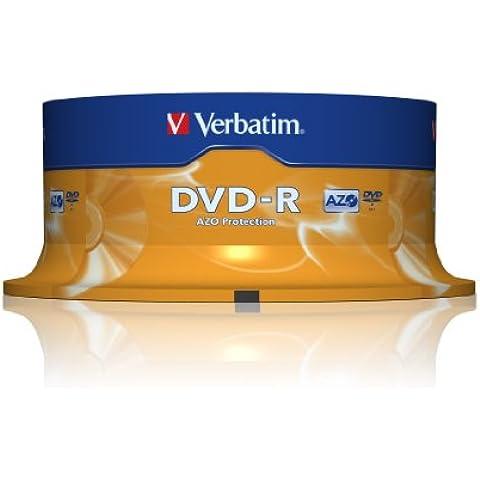 Verbatim 319682 - Pack de 25 DVD-R de 4.7 GB