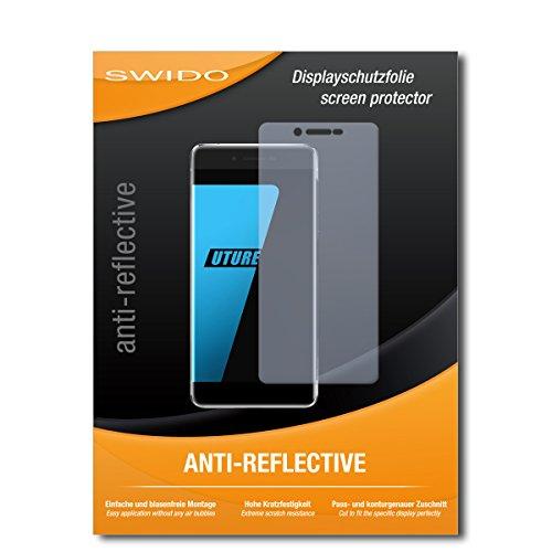 SWIDO Schutzfolie für Ulefone Future [2 Stück] Anti-Reflex MATT Entspiegelnd, Hoher Härtegrad, Schutz vor Kratzer/Bildschirmschutz, Bildschirmschutzfolie, Panzerglas-Folie