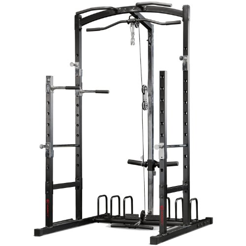 Marcy Power Rack Palestra - Nero/Rosso
