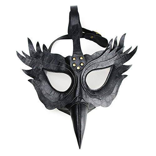 KTYX Steampunk Pest Schnabel Doktor Maske -