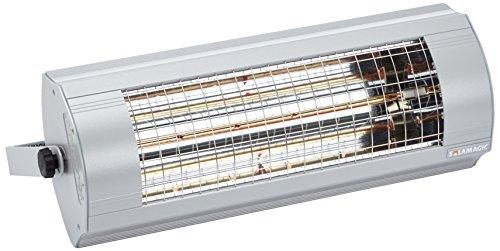 etherma Radiateur infrarouge Solamagic, 2,8 kW au plafond, Nano-Anthracite, 9100470