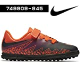 Nike 749909-845, Botas de Fútbol Niño, Naranja (Total Crimson / Obsidian-Vivid Purple), 28 EU