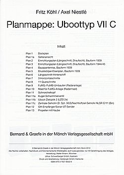 Planrolle: Uboottyp VII C