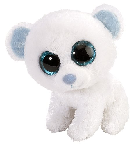 Li'l Sweet & Sassy - Oso Polar de Peluche, 13 cm, Color Blanco (Wild Republic 13705)