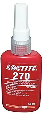 Colle Loctite - Frein filet Loctite 270haute résistance–en métal–Tous les