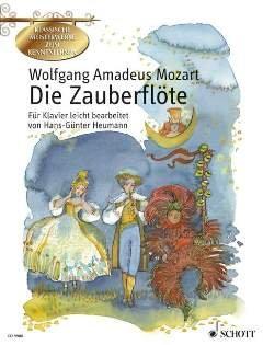 DIE ZAUBERFLOETE KV 620 - arrangiert für Klavier [Noten / Sheetmusic] Komponist: MOZART WOLFGANG AMADEUS aus der Reihe: KLASSISCHE MEISTERWERKE ZUM KENNENLERNEN