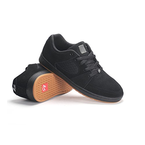 Herren Skateschuh Es Accel Slim Skateschuhe black/black/gum