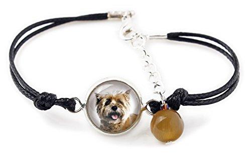 ArtDog Ltd. Cairn Terrier, Armband für Menschen, die Hunde lieben, Foto Schmuck, handgefertigt -