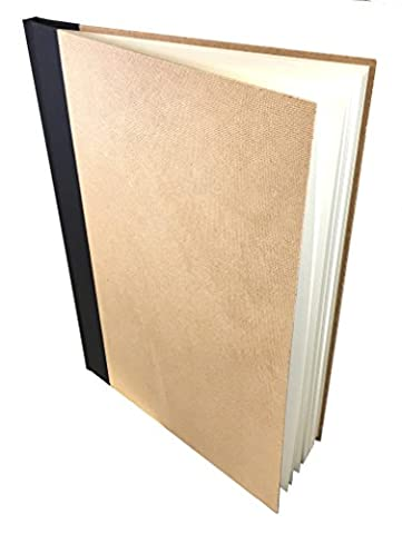 Carnet de Croquis A4 - 92 pages de 170 gr - Papier 100% recyclé avec couverture en carton rigide recyclé Artway.