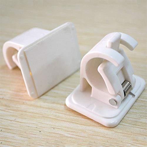 2 clips de retención