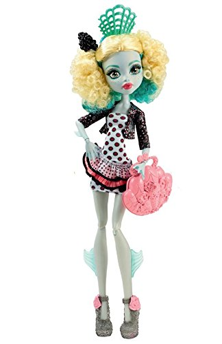 Monster High Mattel CDC37 - Schüler-Graustausch Lagoona Puppe (High Lagoona Monster)