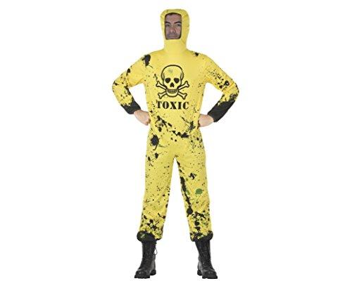Kostüm Bad Hazmat Anzug Breaking - ATOSA 29140 Karnevalskostüm, Mehrfarbig, M