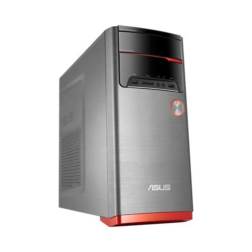ASUS VivoPC M32CD-K-IT012T 3GHz i5-7400 Torre Nero, Grigio, Arancione PC PC