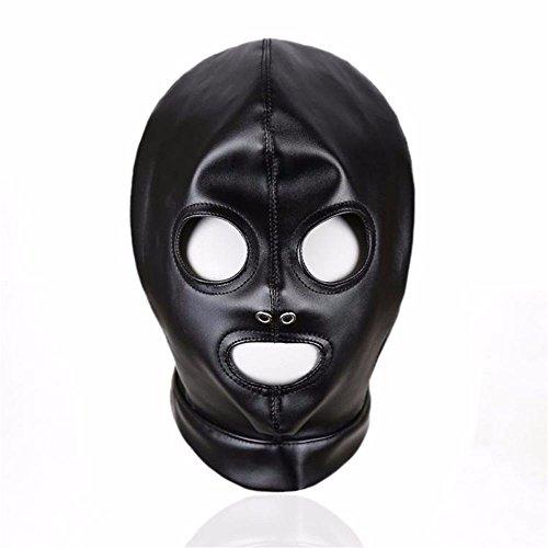 Faniyc Play Game Kostüm Männer Frauen Party Love Cosplay Spielzeug Paare lustig Kopfbedeckung Slave Mask