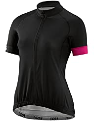 Skins Cycle Womens Jersey Classic Short Sleeve Black/Magenta, color negro, tamaño small
