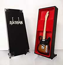 Joe Walsh: Hotel California Telecaster - Miniature Guitar Replica (UK Seller)
