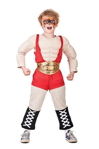 Kostüm Kids Ringer - Wrestler Boy Kostüm (4-6 Jahre)