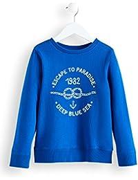 RED WAGON Jungen Sweatshirt mit 'Deep Blue Sea'-Print