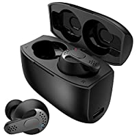 True Wireless Earbuds Bluetooth V5.0, Klearlook Bluetooth 5.0V 3D Stereo Sound Deep Bass Wireless Headphones Earphones, Sweatproof TWS Built in Mic In-Ear Soundbuds 24H Battery with Charging Box